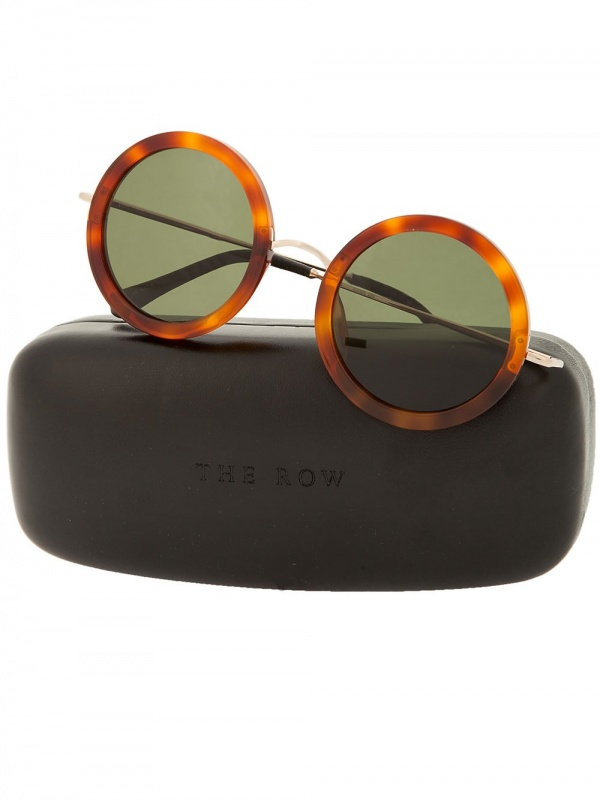 "ad3c08845f The Row""   Linda Farrow – Oversized Round Glasses"